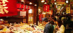 nikishi food market, kyoto