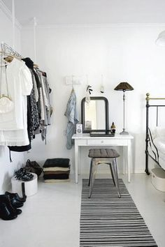 I like the simple thing. Idk if it'll work with the dark wood furniture I have though. Get a 780 credit score in 4 weeks Learn how here decorating interior design 2012 home design interior design house design Style At Home, Ideas De Closets, Closet Ideas, Wardrobe Ideas, Wardrobe Design, Interior Inspiration, Room Inspiration, Interior Ideas, Home Bedroom