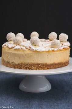 Raffaello Cheesecake recipe