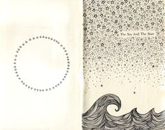 The Sea And The Stars ~ by Kate Rabbit  #art #journal #sketch #myt