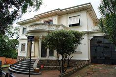 Abandoned mansion at Buri street, Sao Paulo - Brazil