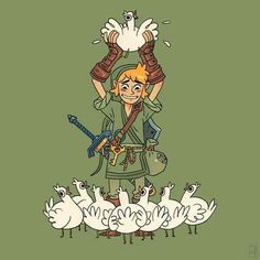 Link and the Cuccos