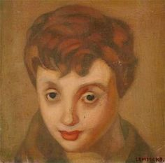 Françoise Sagan by Tamara de Lempicka)