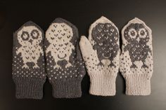 My mom made these for me and my bf for Xmas, absolutely love them :) My Mom, Thats Not My, Gloves, Xmas, Winter, Diy, Fashion, Christmas, Do It Yourself