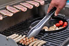 Pripravte si na grile dokonalé, anglické raňajky - Páni v najlepších rokoch Grill Pan, Panama, Grilling, Kitchen, Griddle Pan, Cooking, Panama Hat, Crickets, Kitchens