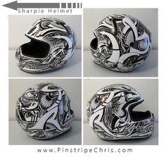 Sharpie+Motorcycle+Helmet+by+PinstripeChris.deviantart.com+on+@deviantART