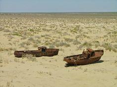 Aral Sea Disaster - Moynaq, Nukus