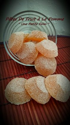 Pâte De Fruits à La Pomme Healthy Candy, Gourmet Gifts, No Sugar Foods, Dessert Recipes, Food And Drink, Yummy Food, Brunch, Sweets, Cooking