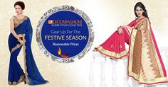 #Triveni's Best-Selling #Sarees. Now At Never-Before Prices. #GoEthnic Visit  http://buff.ly/1PYfFu9 #FestiveOffer