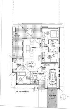 Egyszintes családi ház 125 m2 - Családiházam.hu