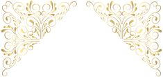 Decorative Corners PNG Clip Art | Gallery Yopriceville - High-Quality Images and Transparent PNG Free Clipart