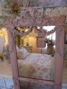Paris Panache Antiques - The finest in European antiques and eclectic finds. French Bed, French Chic, French Decor, Shabby Chic Accessories, Shabby Chic Cottage, Romantic Cottage, Boudoir, Fru Fru, Western Furniture