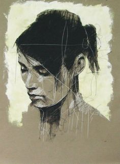 Every single day since November 2010, without fail, Bristol-based artist Guy Denning (previously) posts a daily sketch to his Drawing a Day blog (occasionally mirrored on his Facebook page). It's well worth following. For more of his work head over to Signal Gallery where he had a solo show in Octob