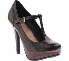 Madeline Womens Beckett Mary Leopard
