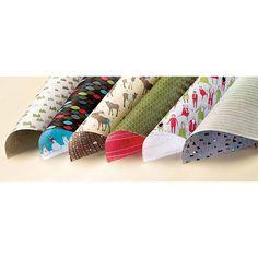 Santa & Co. Designer Series Paper - by Stampin' Up! : Basic Black, Hello Honey, Marina Mist, Old Olive, Real Red, Soft Suede, Whisper White