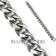 PIN IT TO WIN IT! Viper:   VIPER chain by Blue Steel. VIPER is a bold round-shaped Stainless Steel Twisted Snake Skin Bracelet interlocking alternate links with Twisted Snake Skin spirals which gets others attention.  $79.99  www.buybluesteel.com