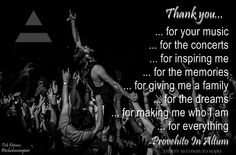 A 'thank you' letter to @THIRTY SECONDS TO MARS #MARSart edited by @Tish Deimos :) @JARED LETO @Shannon Leto @tomofromearth