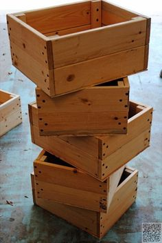 13. DIY #Crate - 37 Storage #Baskets That Will Make You Want to Organize Your #Whole House ... → DIY #Little