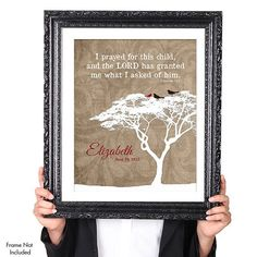 PERSONALIZED ADOPTION Quote Wall Art Print by JaneAndCompanyDesign, $20.00