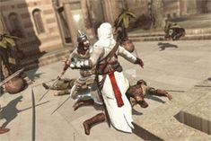 why don't we ever talk about that one counter in ac1 where altair bitchslaps the guy so hard he topples backwards