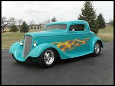 1934 Chevrolet 3 Window Coupe Street Rod 502 CI, Automatic