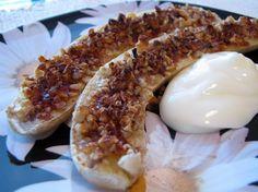 Crunchy Baked Bananas.