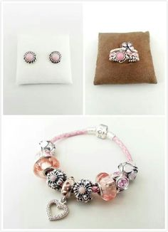 PANDORA. Pretty Pink Collection ♡