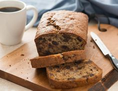 Rachel Ray Chocolate Chip Banana Bread.