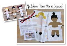 """Kit """"LES POUPEES"""" - Zazobouzi boutique - Createur mode enfant, bebe, Cadeau Naissance, Vetement bebe, enfant"""