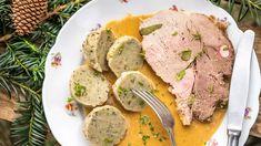 Lahodná hamburská pečeně na smetaně - Proženy Mashed Potatoes, Pork, Meat, Ethnic Recipes, Whipped Potatoes, Kale Stir Fry, Smash Potatoes, Pigs, Shredded Potatoes