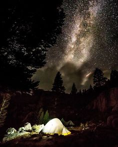 Slept under the stars this past weekend during an epic backpacking trip in the Eastern Sierras!