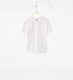 ZARA - KIDS - T-shirt with button neck