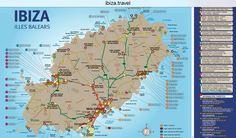 Kostenlose Ibiza Karte: Alle Strände und Sehenswürdigkeiten in der Übersicht