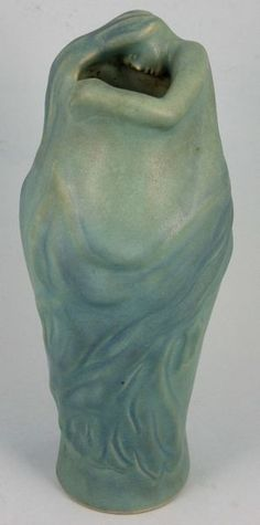 Van Briggle - A lovely Lorelei vase!  The glaze is very interesting and it is highly detailed.  WOW!