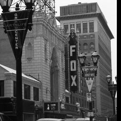 The Fox Theatre!  Just down the street from SLU!