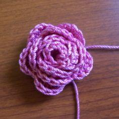 Mini Rose Hairclip to make