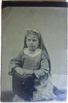 """Alvira """"Allie"""" Earp --- Appearing here on a plate tintype, some years before she met Virgil. Original image from the collection of P. Michael Doyle, Cyber Forensics, Old West Outlaws, Famous Outlaws, Tombstone Arizona, Wyatt Earp, Dust Bowl, Thing 1, Mountain Man"""