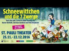 Schneewittchen und die sieben Zwerge  Das Weihnachtsmärchen im St. Pauli Theater 25. November. - 22. Dezember 2016  From: St.Pauli Theater  #Theaterkompass #TV #Video #Vorschau #Trailer #Theater #Theatre #Schauspiel #Clips #Trailershow