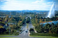 Canberra, NSW, Australia. Oh, how I miss my Aussie friends and this lovely city!