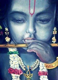 ✨ KRISHNA ✨ Very pretty picture, love the details.