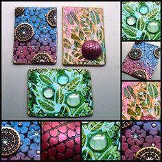 Polymer Clay ACEOs by MandarinMoon on DeviantArt