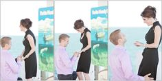 hiring a photographer to capture your engagement? major brownie points for the groom :)