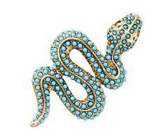 Kenneth Jay Lane Snake Pin