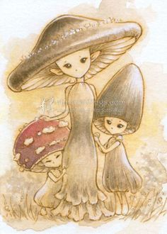 I would have mushroom people as one of my creatures