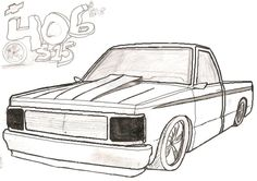 Ford Truck Coloring Pages 01 | Coloring Pages | Pinterest ...