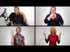 True Colours (by Artists Against Bullying) ASL - YouTube