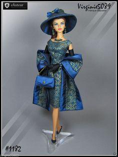 Tenue Outfit Accessoires Pour Fashion Royalty Barbie Silkstone Vintage 1182 | eBay