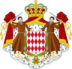 Escudo de Armas de  Monaco