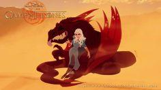 Disney is coming!: si la serie Juego de Tronos fuera de dibujos animados // Daenerys Targaryen