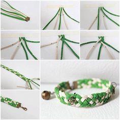 DIY Easy Braided Bracelet 3